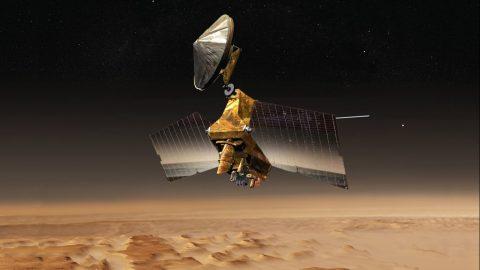 NASA's Mars Reconnaissance Orbiter Undergoes Memory Update
