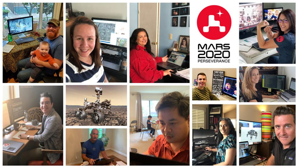 How NASA's Perseverance Mars Team Adjusted to Work in the Time of Coronavirus