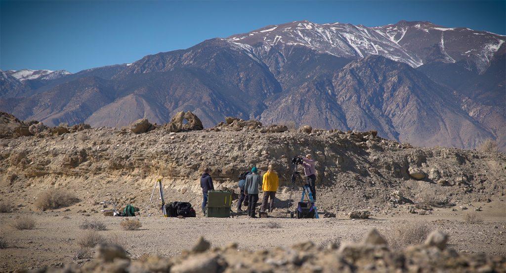 NASA Perseverance Mars Rover Scientists Train in the Nevada Desert