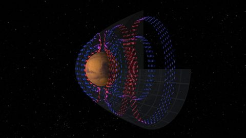 MAVEN Maps Electric Currents around Mars that are Fundamental to Atmospheric Loss